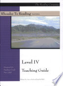 Rhoades to Reading Level IV Teaching Guide