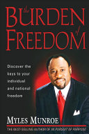 The Burden Of Freedom Book Cover