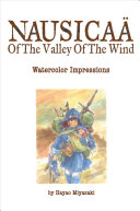 Nausica   of the Valley of the Wind  Watercolor Impressions