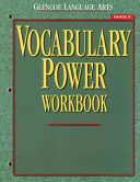 Glencoe Language Arts  Grade 9  Vocabulary Power Workbook