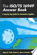 The ISO TS 16949 Answer Book