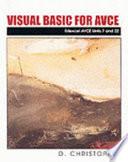 Visual Basic for AVCE