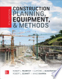 Construction Planning  Equipment  and Methods  Ninth Edition