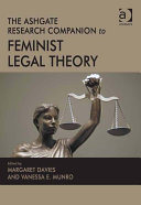 The Ashgate Research Companion to Feminist Legal Theory