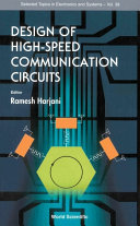 Design of High-speed Communication Circuits