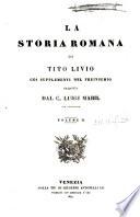 La storia romana di Tito Livio