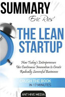 Eric Ries  the Lean Startup