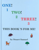 One  Two  Three  This Book s for Me  Book PDF