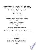 Christian Gotthilf Salzmann, Gründer der Erziehungsanstalt zu Schnepfenthal