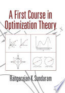 A First Course in Optimization Theory