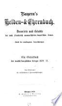 Bayerns Helden- & Ehrenbuch