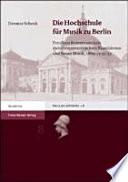 Die Hochschule für Musik zu Berlin