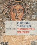 Critical Thinking, Thoughtful Writing