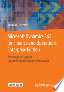 Microsoft Dynamics 365 for Finance and Operations, Enterprise Edition