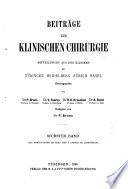 Bruns' Beiträge zur klinischen Chirurgie