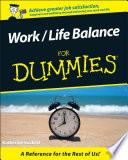 Work   Life Balance For Dummies