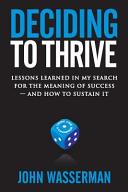 Deciding To Thrive