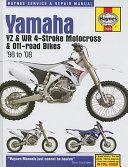 Yamaha Yz Wr 4 Stroke Motocross Off Road Bikes 98 08