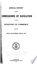 Annual Report of the Commissioner of Navigation Book PDF