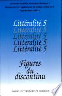 Figures du discontinu