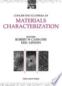Concise Encyclopedia of Materials Characterization