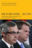 How Ottawa Spends, 2012-2013 Book