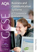 AQA GCSE Business and Communication Systems ICT Systems in Business