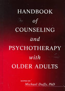Handbook of Counseling and Psychotherapy with Older Adults
