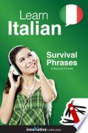 Learn Italian   Survival Phrases Italian  Enhanced Version
