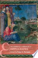 The Cambridge Companion to Hippocrates Book PDF