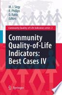 Community Quality Of Life Indicators Best Cases Iv