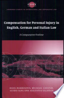 download ebook compensation for personal injury in english, german and italian law pdf epub
