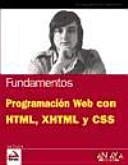Programación web con HTML, XHTML y CSS