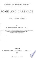 Rome and Carthage  the Punic Wars