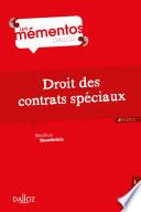 Droit Des Contrats Sp Ciaux