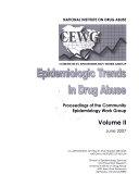 Epidemiologic Trends in Drug Abuse