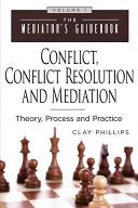 Conflict Conflict Resolution Mediation