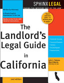 The Landlord s Legal Guide in California