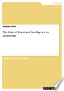 The Role Of Emotional Intelligence In Leadership