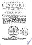 Algemeene Histori Van Het Begin Der Wereld Af Tot Den Tegenwoordigen Tijd Toe Opgehelderd Met Landkaerten Printverbeeldingen