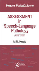Hegde s Pocketguide to Assessment in Speech Language Pathology