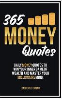 365 Money Quotes