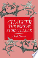 Chaucer The Poet As Storyteller