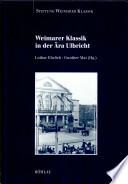 Weimarer Klassik in der Ära Ulbricht