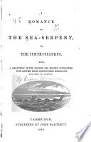 A Romance of the Sea Serpent