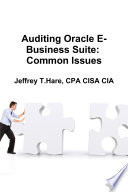 Auditing Oracle E Business Suite  Common Issues