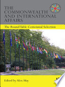 The Commonwealth and International Affairs