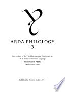 Arda Philology 3
