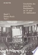 Geschichte des deutschen Buchhandels im 19. und 20. Jahrhundert. Band 3: Drittes Reich