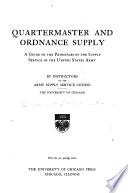 Quartermaster and Ordnance Supply
